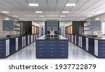 interior of laboratory... | Shutterstock . vector #1937722879