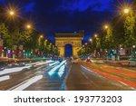 arc de triomphe paris  arch of... | Shutterstock . vector #193773203