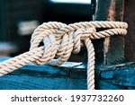 Old Ship Line Mooring To The...