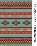 ethnic geometric pattern of...   Shutterstock .eps vector #1937733436