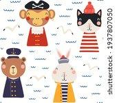Cute Animals Sailors  Pirates ...