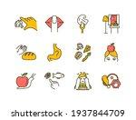conscious nutrition rgb color... | Shutterstock .eps vector #1937844709