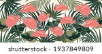 abstract art nature background... | Shutterstock .eps vector #1937849809