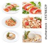 set of tasty italian food... | Shutterstock . vector #193788329