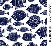 Cute Fish. Kids Background....