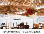 Cafe By The Sea. Restaurant On...
