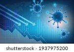 the coronavirus impacts the... | Shutterstock .eps vector #1937975200
