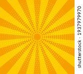 abstract yellow sun rays.... | Shutterstock .eps vector #1937979970