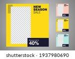 new set of editable minimal... | Shutterstock .eps vector #1937980690