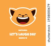 National Let's Laugh Day Vector....