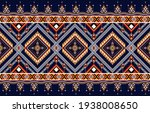 abstract ethnic geometric... | Shutterstock .eps vector #1938008650