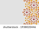 color ornamental patterned... | Shutterstock .eps vector #1938020446