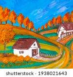 Autumn Nature Landscape Artwork....