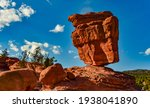 The Balanced Rock  Leaning Rock....