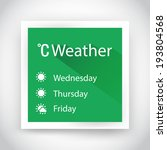 icon of weather for web and...