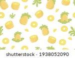 Pineapple Fruit Fresh Seamless...
