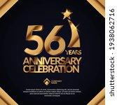 56 years anniversary... | Shutterstock .eps vector #1938062716