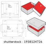 shoes cardboard box  internal...   Shutterstock .eps vector #1938124726