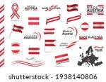 big vector set of austrian... | Shutterstock .eps vector #1938140806