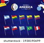 south america football 2021...   Shutterstock .eps vector #1938190699