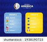 south america football 2021... | Shutterstock .eps vector #1938190723
