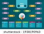 euro 2020 match schedule ... | Shutterstock .eps vector #1938190963