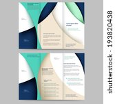 abstract colored brochure... | Shutterstock .eps vector #193820438