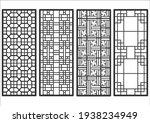 traditional korean ornament... | Shutterstock .eps vector #1938234949
