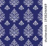 vector vintage damask pattern... | Shutterstock .eps vector #1938246469