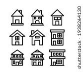 lodging icon or logo isolated...   Shutterstock .eps vector #1938264130