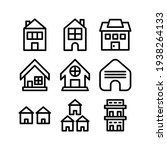lodging icon or logo isolated...   Shutterstock .eps vector #1938264133