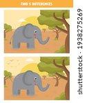 find five differences between... | Shutterstock .eps vector #1938275269