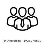 team leader group single... | Shutterstock .eps vector #1938275530