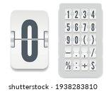 white analog black countdown...