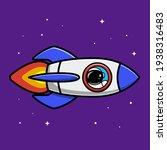 Astronaut Riding Rocket Cartoon ...