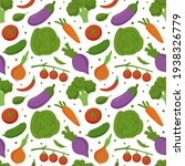 seamless pattern with fresh... | Shutterstock .eps vector #1938326779