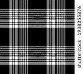 Plaid Pattern Seamless In Black ...