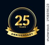twenty five years anniversary...   Shutterstock .eps vector #1938358123