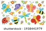 Big Set With Cute Insects....