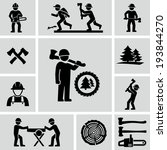 axe,catching,chainsaw,character,crosscut,elements,equipment,fir,forester,forestry,graphic,helmet,hiker,holding,humor