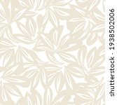 brown taupe floral botanical... | Shutterstock .eps vector #1938502006