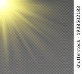 special design of sunlight or... | Shutterstock .eps vector #1938502183