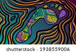 colourful psychedelic line art...   Shutterstock .eps vector #1938559006