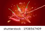 red chili pepper with chili...   Shutterstock .eps vector #1938567409