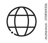 www icon. world wide web vector ...