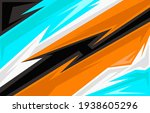 vector car sticker design.... | Shutterstock .eps vector #1938605296