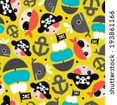 seamless popular boy theme... | Shutterstock .eps vector #193861166