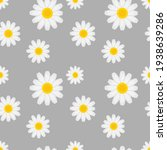 daisy flower seamless...   Shutterstock .eps vector #1938639286
