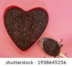 black sesame seeds in the shape ... | Shutterstock . vector #1938645256