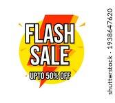 flash sale web banner template... | Shutterstock .eps vector #1938647620